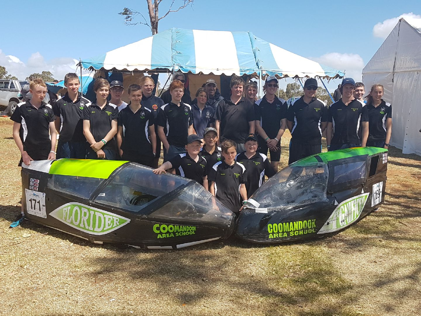 Coomandook Area School Pedal Prix Team